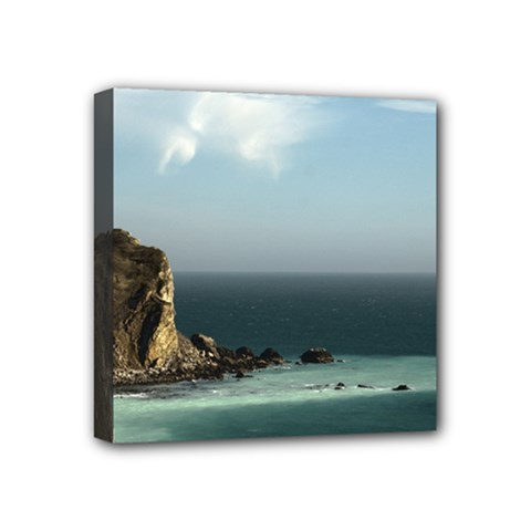 Dramatic Seaside Picture Mini Canvas 4  X 4  (stretched) by NoemiDesign