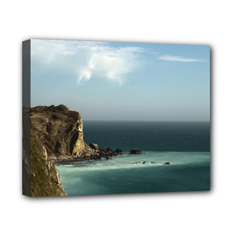 Dramatic Seaside Picture Canvas 10  X 8  (stretched) by NoemiDesign
