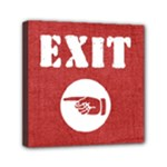 exit left - Mini Canvas 6  x 6  (Stretched)