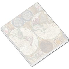 1794 World Map Small Memo Pad by StuffOrSomething