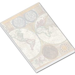 1794 World Map Large Memo Pad
