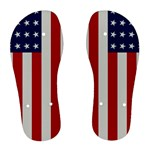 US Flag - Women s Flip Flops