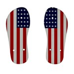 US Flag - Kid s Flip Flops