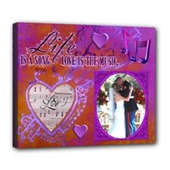 Love Song 24 X20  delux canvas - Deluxe Canvas 24  x 20  (Stretched)