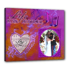Love Song 24X20 stretched canvas - Canvas 24  x 20  (Stretched)