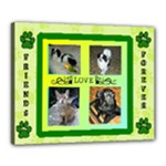 Pets 20x16 stretched canvas - Canvas 20  x 16  (Stretched)
