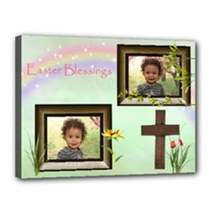 easter canvas - Canvas 16  x 12  (Stretched)