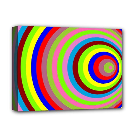 Color Deluxe Canvas 16  X 12  (framed)  by Siebenhuehner