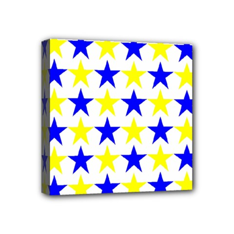 Star Mini Canvas 4  X 4  (framed) by Siebenhuehner