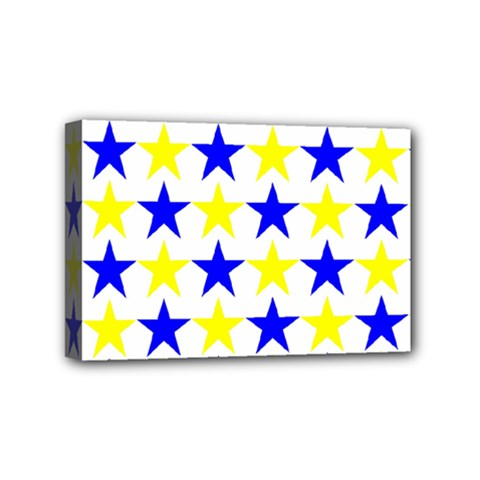 Star Mini Canvas 6  X 4  (framed) by Siebenhuehner