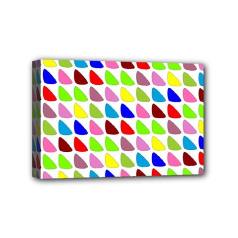 Pattern Mini Canvas 6  X 4  (framed) by Siebenhuehner