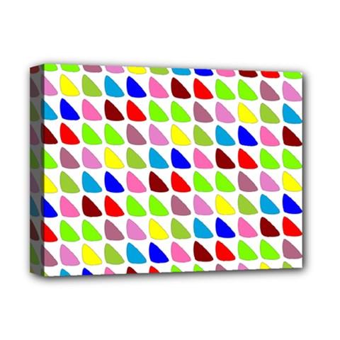 Pattern Deluxe Canvas 16  X 12  (framed)  by Siebenhuehner