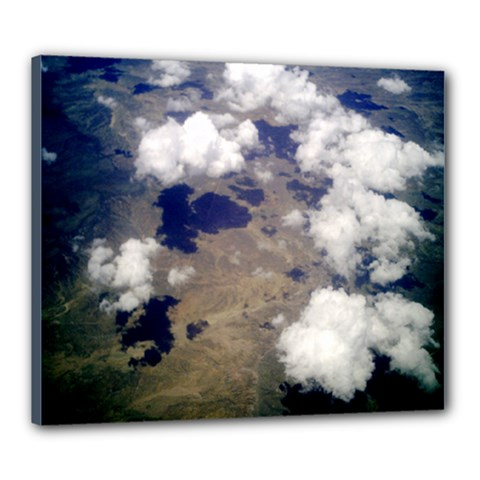 Shadows Of The Clouds   Ave Hurley  Canvas 24  X 20  (framed) by ArtRave2