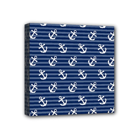 Boat Anchors Mini Canvas 4  X 4  (framed) by StuffOrSomething