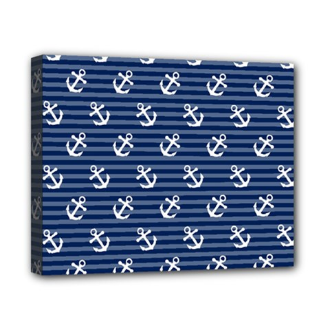 Boat Anchors Canvas 10  X 8  (framed) by StuffOrSomething