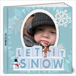 Let It Snow 12x12 20 Page Photo Book - 12x12 Photo Book (20 pages)
