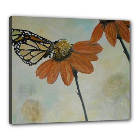 Monarch Canvas 24  X 20  (framed)