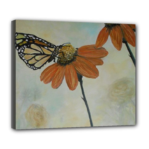 Monarch Deluxe Canvas 24  X 20  (framed)