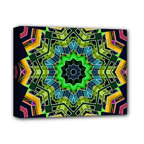 Big Burst Deluxe Canvas 14  x 11  (Framed) by Rbrendes
