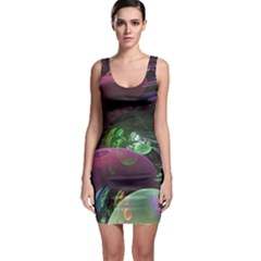 Creation Of The Rainbow Galaxy, Abstract Bodycon Dress by DianeClancy