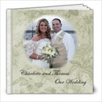 Charlotte 8x8 Wedding book - 8x8 Photo Book (20 pages)