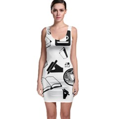 Author Bodycon Dress by StuffOrSomething