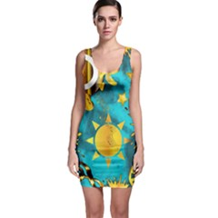 Musical Peace Bodycon Dress by StuffOrSomething