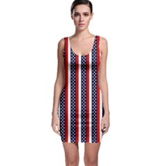 Patriot Stripes Bodycon Dress by StuffOrSomething