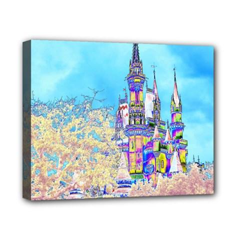 Castle For A Princess Canvas 10  X 8  (framed) by rokinronda
