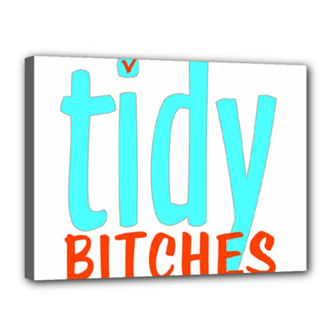 Tidy Bitcheslarge1 Fw Canvas 16  X 12  (framed) by tidybitches
