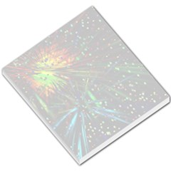 Exploding Fireworks Small Memo Pad by StuffOrSomething