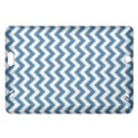 Blue And White Zigzag Kindle Fire HD 7  (2nd Gen) Hardshell Case View1