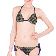 Retro Floral Tile  Bikini by Contest1888309