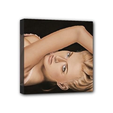 Alluring Mini Canvas 4  x 4  (Framed)