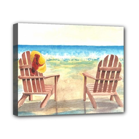 Time To Relax Canvas 10  X 8  (framed) by TonyaButcher