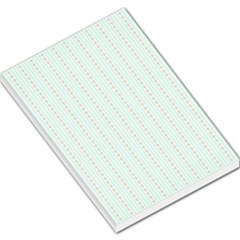 Hearts & Stripes Large Memo Pad