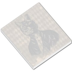 Harlequin Cat Small Memo Pad by StuffOrSomething