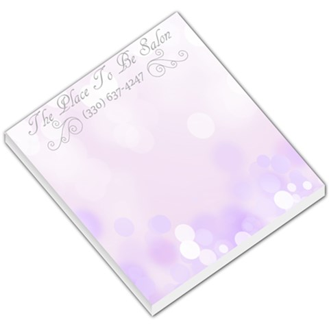 Place To Be Memo By Jasmine Huston   Small Memo Pads   Yge6qpz55a9d   Www Artscow Com