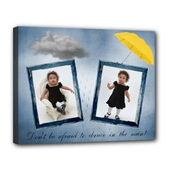 rain canvas 14x11 - Canvas 14  x 11  (Stretched)