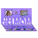 #1 Mom card 4 - #1 MOM 3D Greeting Cards (8x4)