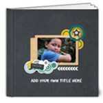 8x8 (DELUXE): Boys will be Boys (Multi-Frames) - 8x8 Deluxe Photo Book (20 pages)