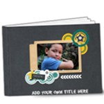 9x7 (DELUXE): Boys will be Boys (Multi-Frame) - 9x7 Deluxe Photo Book (20 pages)