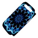 Crystal Star, Abstract Glowing Blue Mandala Samsung Galaxy S III Hardshell Case (PC+Silicone) View4