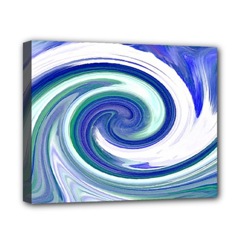 Abstract Waves Canvas 10  X 8  (framed) by Colorfulart23