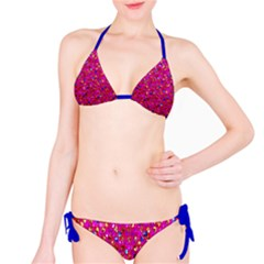 Polka Dot Sparkley Jewels 1 Bikini by MedusArt