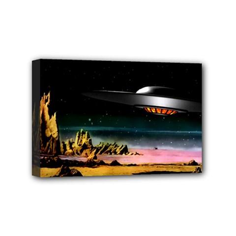 Altair Iv Mini Canvas 6  X 4  (framed) by neetorama