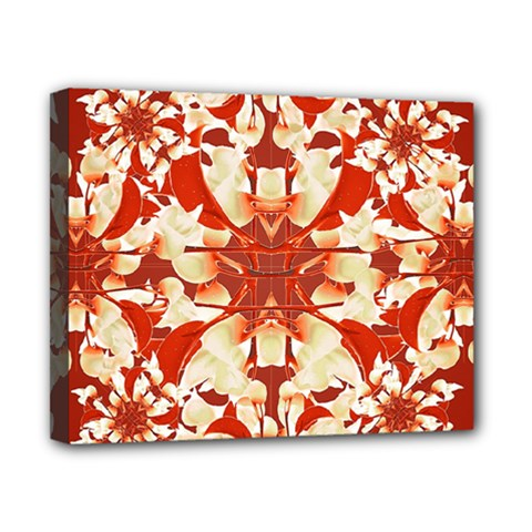 Digital Decorative Ornament Artwork Canvas 10  X 8  (framed) by dflcprints