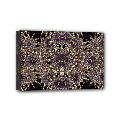 Luxury Ornament Refined Artwork Mini Canvas 6  X 4  (framed) by dflcprints