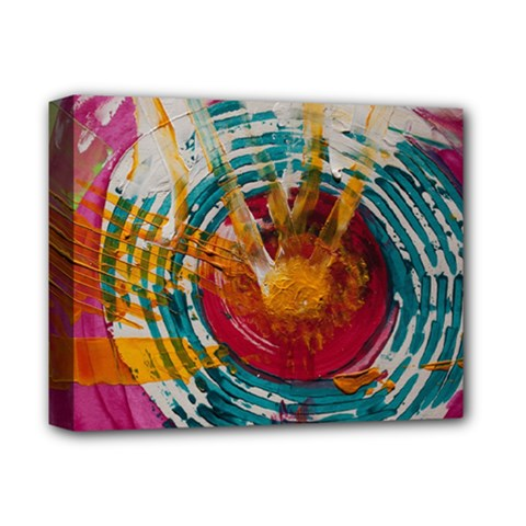 Art Therapy Deluxe Canvas 14  X 11  (framed) by StuffOrSomething