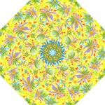 yellowflowersumb - Folding Umbrella